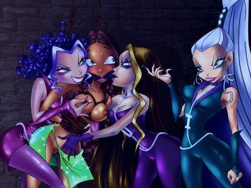 Winx Club Lesbian Porn