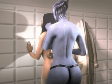 1158469 - Liara_T'Soni Mass_Effect Miranda_Lawson animated marm source_filmmaker.gif