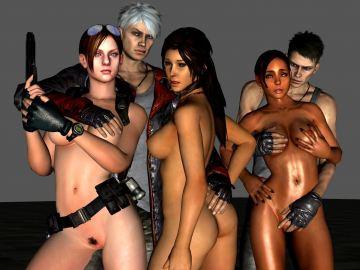 Resident Evil Rebbeca Hentai