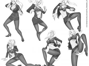 Tekken Characters Nude