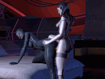 1118571 - Asari EDI Mass_Effect Mass_Effect_2 Mass_Effect_3 Morgaine Morinth animated source_filmmaker.gif