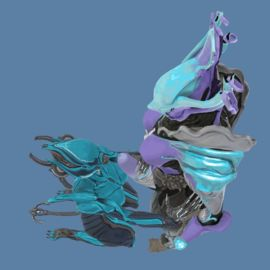1815779 - Saryn Tenno Warframe animated blender blender_cycles dirtystigma valkyr.gif