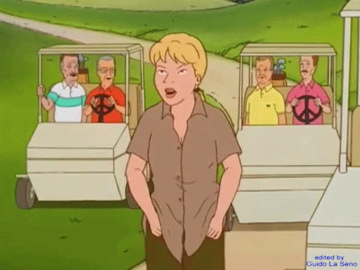 Luanne Platter Bobby Hill Peggy Hill Hank Hill Nancy Gribble 1513463 - Guido_L Hank_Hill King_of_the_Hill Luanne_Platter animated.gif