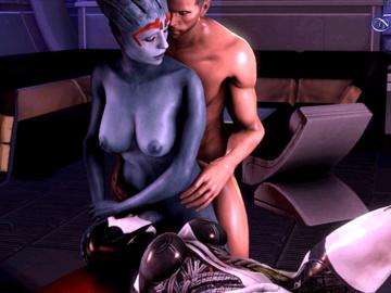 1562248 - Asari EDI Mass_Effect Mass_Effect_3 Samara animated imflain source_filmmaker.gif