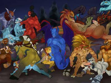Furry Yiff Digimon