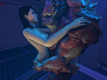 1451039 - Ashley_Williams Beastlyjoe Mass_Effect Wrex animated krogan source_filmmaker.gif