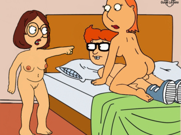 Lois Griffin Meg Griffin 1656308 - Family_Guy Guido_L Lois_Griffin Meg_Griffin Neil_Goldman animated.gif