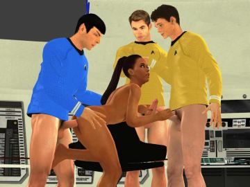 Star Trek Sex Boldly Go