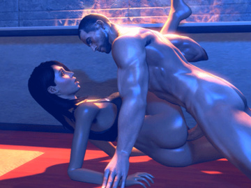 1437821 - Ashley_Williams Commander_Shepard Mass_Effect animated ltr300.gif