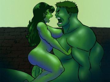 Cartoon Avengers Hentai