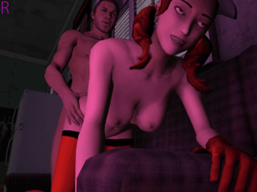 1246309 - Ellis Left_4_Dead Monday_Night_Combat Pit_girl animated leeteRR source_filmmaker.gif