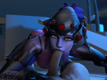 Widowmaker Mei 1747642 - Overwatch Widowmaker animated noname55 source_filmmaker.gif