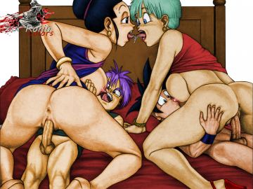 Dragon Ball Z Bulma Android 18 Porn