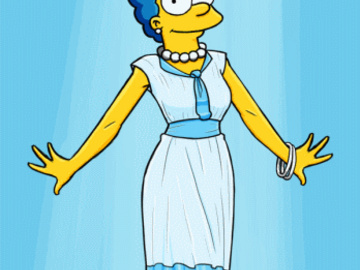 Marge Simpson Maggie Simpson 1339760 - Chesty_Larue Marge_Simpson The_Simpsons animated.gif
