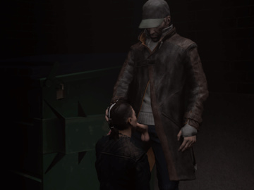 1420234 - Aiden_Pearce Clara_Lille Watch_Dogs animated olowrider source_filmmaker.gif