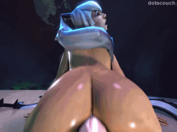Mirana the Priestess of the Moon DisgustingYellowishBlackrhino.gif