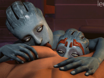 1296044 - Mass_Effect Mass_Effect_2 Morinth Samara animated leeteRR source_filmmaker.gif