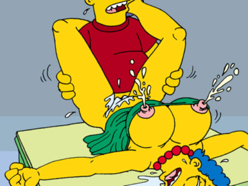 Simpsons Naked