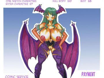 Sexy Felicia Darkstalkers