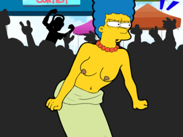 Marge Simpson 1636478 - Chesty_Larue Harlem_Shake Marge_Simpson The_Simpsons animated.gif