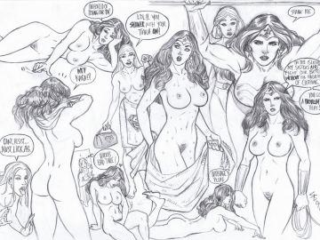 Justice League Porn Comic