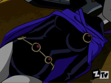 30921 - DC Deathstroke Raven Teen_Titans Zone animated.gif