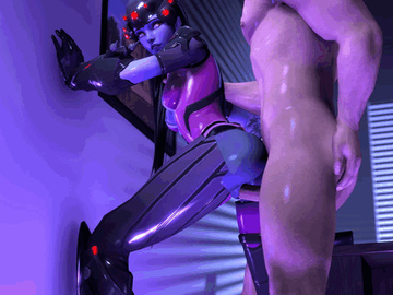 Widowmaker Symmetra 1743234 - Overwatch Secaz Widowmaker animated.gif