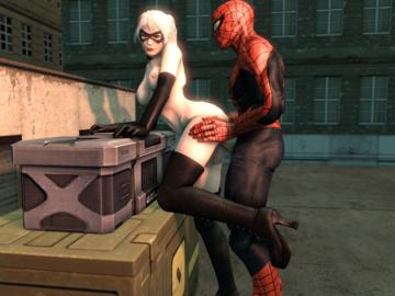 Black Cat Spider-man Gwen Stacy Gwen Tennyson Mary Jane Watson Shiho Miyano 562_0c3ab373af01e181d0c010af9a892.gif