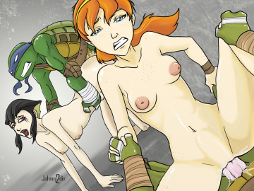 Teenage Mutant Ninja Turtles April Sex
