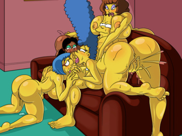Simpsons Get Naked