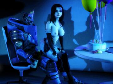 1683330 - Garrus_Vakarian LordAardvark Mass_Effect Miranda_Lawson animated source_filmmaker.gif
