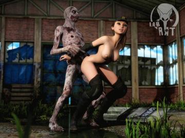 Rebecca Chambers Zombie_Squad.gif