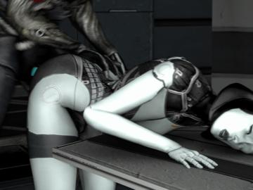 Liara T'soni EDI Legion_EDI_Doggy_720p.gif