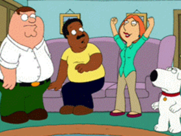 Lois Griffin Peter Griffin Brian griffin Cleveland Browne Chris Griffin Meg Griffin John Herbert Jillian Russell-Wilcox Dotty Campbell 144189 - Brian_Griffin Cleveland_Brown Family_Guy Lois_Griffin Peter_Griffin animated.gif