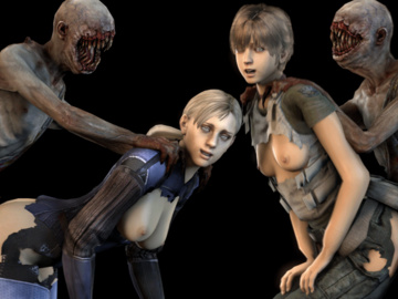 Gaara Ada Wong Jill Valentine Rebecca Chambers Ashley Graham gabtfg.gif