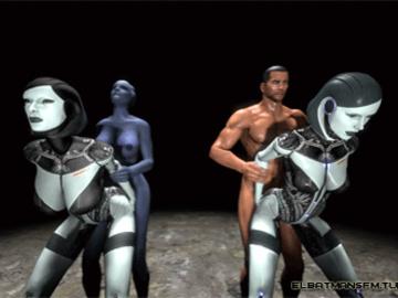 1319393 - Commander_Shepard EDI Liara_T'Soni Mass_Effect Mass_Effect_3 animated elbatmansfm source_filmmaker.gif