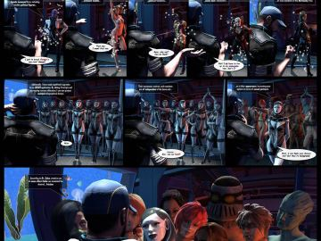 Mass Effect Sex Scenes