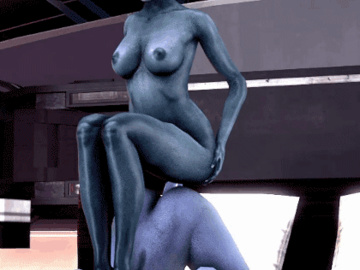 1184940 - Liara_T'Soni Mass_Effect Samara animated source_filmmaker trajan99.gif
