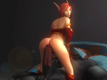 Draenei 018Tauren_Warcraft_World_of_Warcraft_animated_blood_elf_comissair.gif
