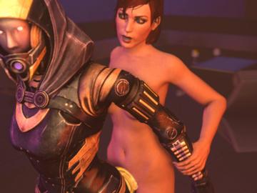 1279596 - Commander_Shepard FemShep Mass_Effect Mass_Effect_3 Tali'Zorah_nar_Rayya animated em805 source_filmmaker.gif