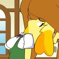 1533899 - Animal_Crossing Isabelle animated minus8.gif