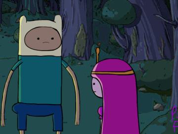 Princess Bubblegum Finn 1114953 - Adventure_Time Finn_the_Human Princess_Bubblegum PurplePrawn animated.jpg