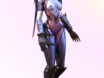 Federline Tracer D.Va Widowmaker Mercy 1835749 - Overwatch Widowmaker animated ellowas.gif