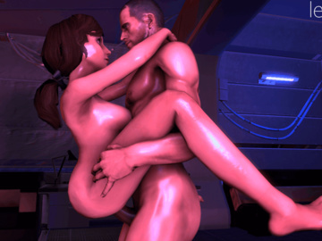 Miranda Lawson 1237530 - Bioshock Bioshock_Infinite Commander_Shepard Elizabeth Mass_Effect Mass_Effect_2 Mass_Effect_3 animated crossover leeteRR source_filmmaker.gif
