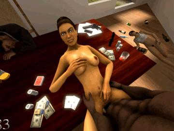 1324086 - Alyx_Vance Barney_Calhoun Chell Half-Life_2 Portal animated crossover k1183 source_filmmaker.gif