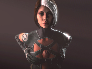 Rouge 1171385 - Marvel Rogue X-Men animated datnigga source_filmmaker.gif