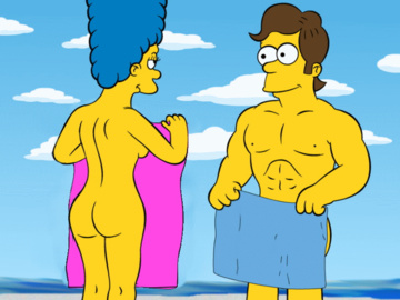 Marge Simpson Homer Simpson 1247026 - Guido_L Marge_Simpson The_Simpsons animated.gif