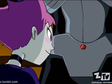 Jinx 850104 - Cyborg DC Jinx Teen_Titans Zone animated.gif