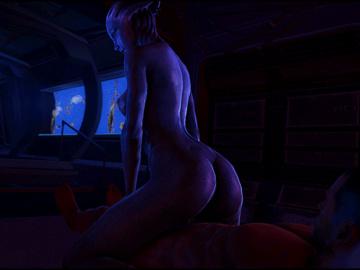 1317231 - Asari Commander_Shepard Liara_T'Soni Mass_Effect SFMSnip animated source_filmmaker.gif