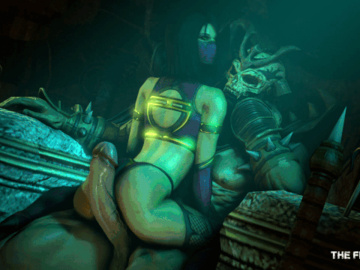 Mileena Sindel 1602380 - Mileena Mortal_Kombat Shao_Kahn The_Firebrand animated.gif